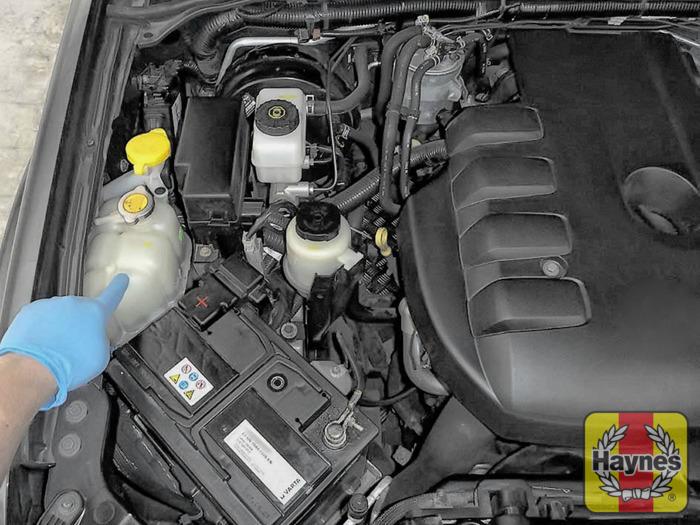 nissan navara 2006 2010 2 5 dci checking coolant level rh haynes com 1950 Audi 1975 Audi