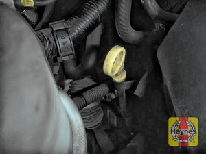 Illustration of step: Always replace the cap and dipstick securely - step 7