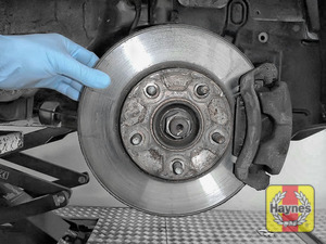 Illustration of step: Check the condition of the brake discs - step 4