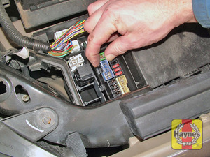 Illustration of step: Additional fuses are housed in a fusebox next to the vehicle's battery - step 2