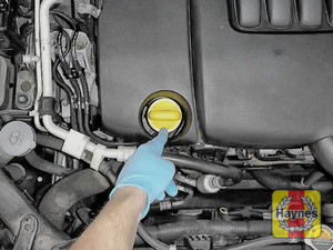 Illustration of step: Always replace the cap and dipstick securely - step 5