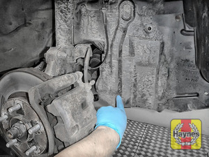 Illustration of step: To access the oil filter, you will need to remove this cover - step 1