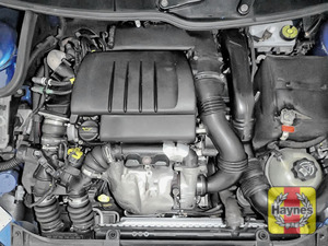 Illustration of step: Reassemble the air filter housing, MAF sensor, air intake and replace the engine cover - step 14