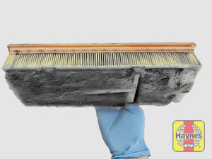 Illustration of step: Clean off any debris on the surface of the filter - step 20