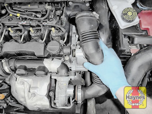 Illustration of step: Now you can release the air intake - step 2