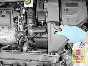Illustration of step: You will need to undo air filter box cover to access the oil cartridge - step 1