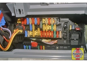 Illustration of step: Undo the fasteners and remove the driver's side lower fascia panel to access the fusebox - step 1