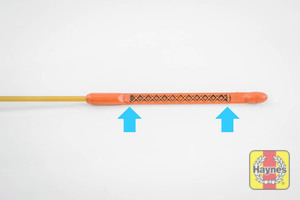 Illustration of step: The MAX-MIN dipstick positions - step 10