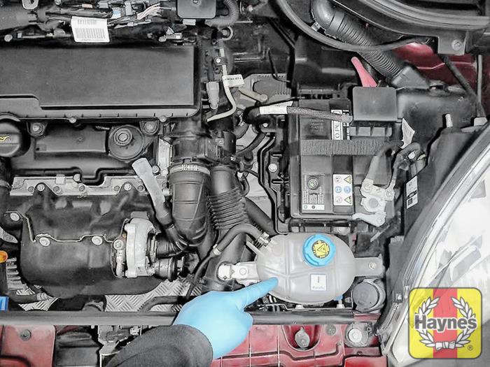 peugeot bipper 2008 2012 1 4 hdi checking coolant level rh haynes com 1989 Audi 5000 1994 Audi 100