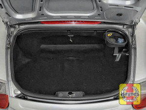 Illustration of step: To access the engine levels you will also need to open the rear boot bonnet - step 9