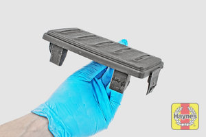 Illustration of step: Carefully lift away the air filter cover - step 3