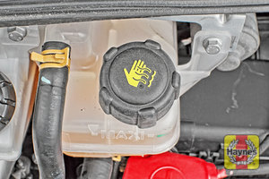 Illustration of step: When finished, replace cap securely - step 4