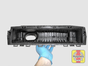 Illustration of step: Check air filter box for debris - step 13