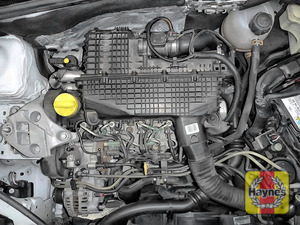 Illustration of step: Reassemble air filter housing and replace engine cover - step 14