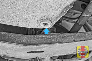Illustration of step: Replace (new) sump plug and washer - step 4