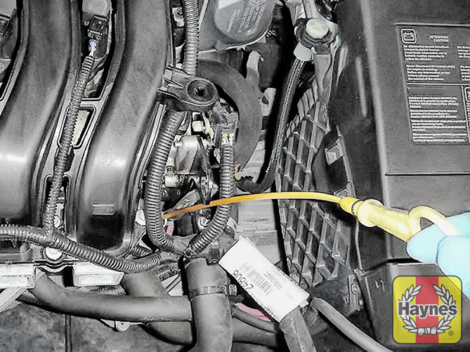 Renault Megane (2008 - 2017) 1.6 VVT - Checking oil level - Haynes ...
