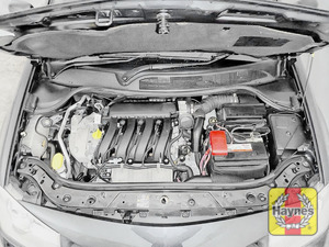 Illustration of step: Use the bonnet stay to support the bonnet - step 3