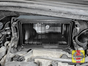 Illustration of step: Check air filter box for debris - step 9