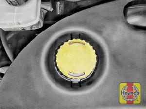 Illustration of step: Replace dipstick / oil filler cap - step 3