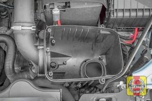 Illustration of step: Check air filter box for debris - step 8