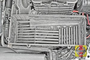 Illustration of step: Check air filter box for debris - step 7