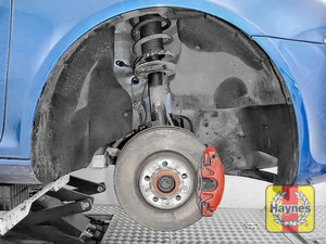 Illustration of step: Now remove the wheel - step 1