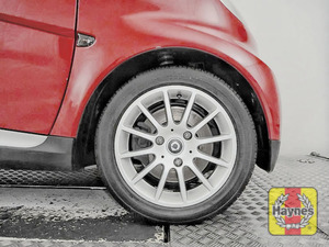 Illustration of step: Start with the front wheels - step 1