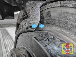 Illustration of step: Locate rear brake pads - step 7