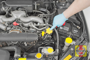 Illustration of step: Always ensure the oil filler cap and dipstick are replaced correctly - step 9