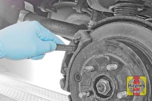 Illustration of step: Measure brake pad wear thickness - step 6