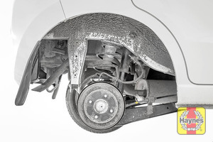 Illustration of step: This model has drum brakes - we do not recommend you remove the drum - step 9