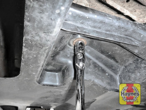 Illustration of step: You will need to remove the sump cover / undertray - step 2