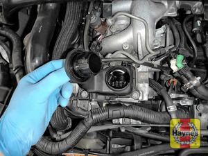 Illustration of step: You are now ready to refill the engine with fresh oil - step 6