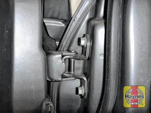Illustration of step: Why not lubricate your hinges? Use a can of lithium grease, spray a very small amount onto each door hinge and the bonnet catch - step 4