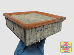 Illustration of step: Clean off any debris on the surface of the filter - step 1