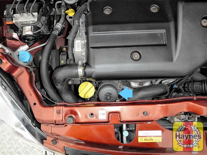 suzuki swift (2004 - 2011) 1.3 ddis - oil filter change ... honda accord fuel filter location suzuki swift fuel filter location #12