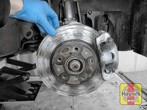 Illustration of step: Check condition of brake discs - step 14