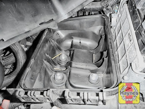 Illustration of step: Check air filter box for debris - step 5