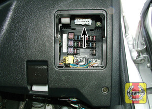 Illustration of step: Unclip the driver's side lower fascia panel to access the diagnostic socket - step 2