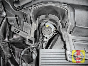 Illustration of step: Now securely replace and tighten cap - replace cover - step 4