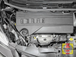 Illustration of step: Reassemble the air filter housing and replace the engine cover - step 8