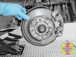 Illustration of step: Check condition of brake discs - step 5
