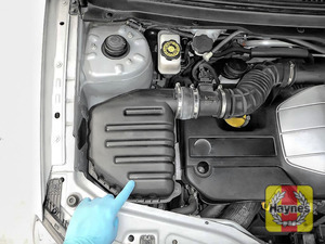 Illustration of step: Reassemble the air filter - step 11