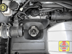 Illustration of step: Now remove the air intake - step 11