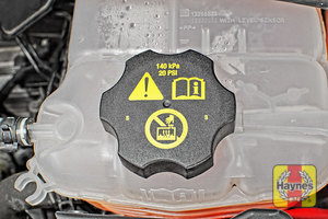 Illustration of step: When finished, replace the cap securely - step 5