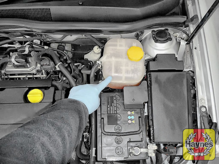 opel coolant level
