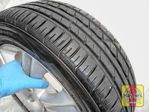 Illustration of step: Before refitting the wheels, take a look at the tyre tread - step 12