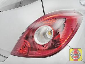 Illustration of step: Check rear light cluster, brake, fog and indicators - step 4