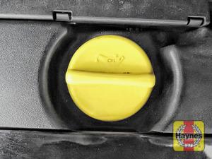 Illustration of step: Locate the oil filler cap - step 3