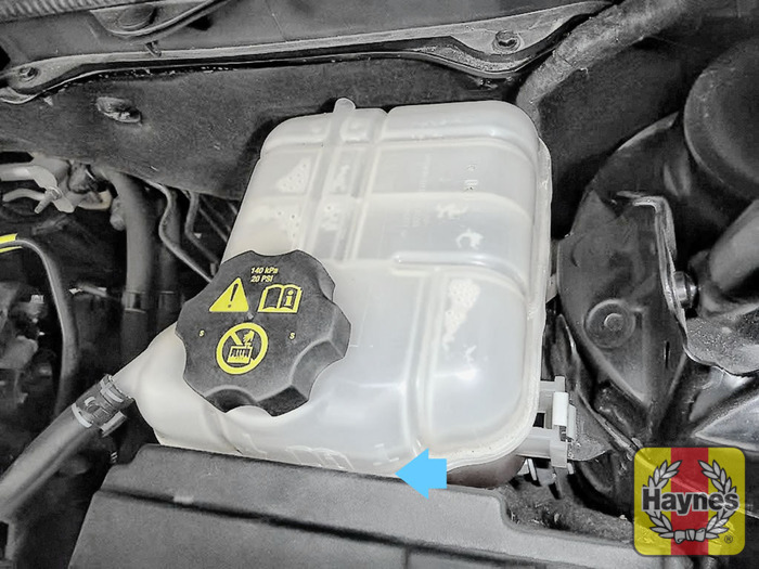 Vauxhall insignia checking coolant